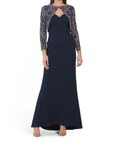 Twofer Covered Gown