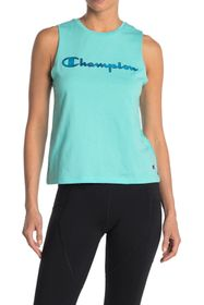 Champion Logo Muscle Tank Top