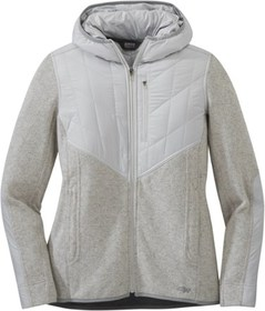 Outdoor Research Cyprus Full-Zip Hoodie - Pebble H