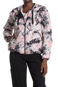 RED Valentino Floral Hooded Jacket