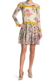 RED Valentino Floral Print Woven Dress