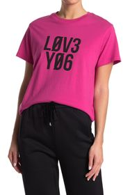 RED Valentino 'Love You' T-Shirt