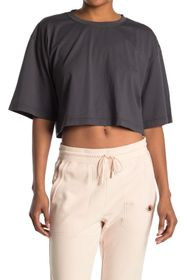 Nicole Miller Cropped T-Shirt