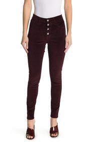 Levi's 721 High Rise Button Front Skinny Corduroy