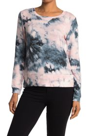 philosophy Long Sleeve Scoop Neck French Terry