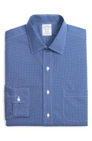 Brooks Brothers Regent Fit Micro Plaid Dress Shirt