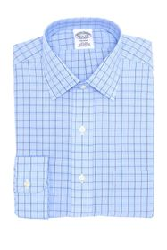 Brooks Brothers Regent Fit Glen Plaid Dress Shirt