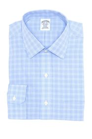 Brooks Brothers Regent Fit Tonal Glen Plaid Dress