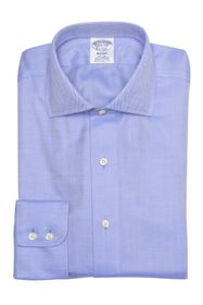 Brooks Brothers Regent Fit Herringbone Dress Shirt