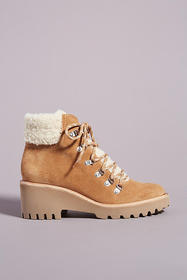 Anthropologie Dolce Vita Hanley Wedge Lace-Up Boot
