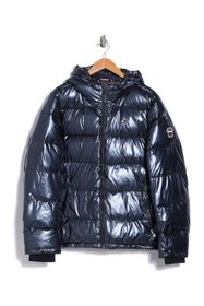 Tommy Hilfiger Quilted Puffer Hooded Mid Length Ja