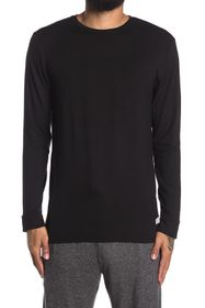 Ben Sherman Crew Neck Long Sleeve Lounge Shirt