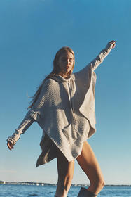 Anthropologie Agnesse Sweater Hoodie