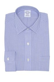 Brooks Brothers Check Print Non-Iron Regent Fit Dr