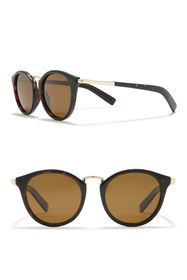 Cole Haan Cat-Eye 50mm Round Polarized Sunglasses