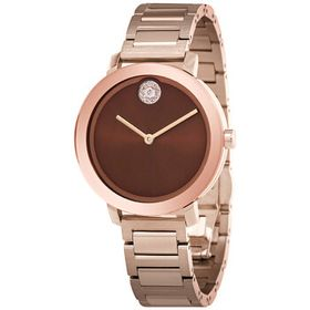 Movado Movado Bold Evolution Chocolate Brown Dial