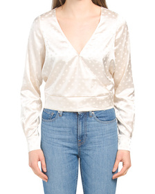 The Tempest Dotted Blouse
