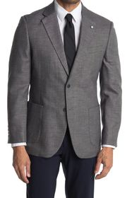 Nautica Notch Lapel Structured Weave Sport Coat