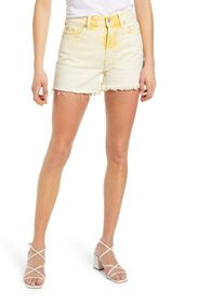 7 For All Mankind High Waist Cutoff Denim Shorts