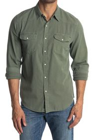 Lucky Brand Long Sleeve Santa Fe Western Shirt