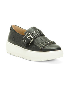 Leather Comfort Sneakers