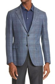 Ermenegildo Zegna Milano Easy Light Plaid Cashmere