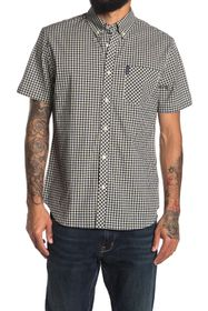 Ben Sherman Plaid Regular Fit Sport Shirt