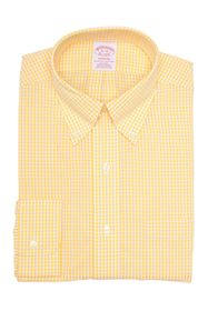 Brooks Brothers Gingham Print Long Sleeve Madison