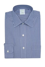 Brooks Brothers Stripe Print Long Sleeve Milano Fi