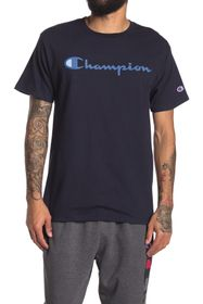 Champion Classic Logo Print Short Sleeve T-Shirt