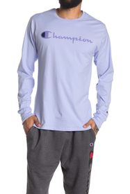 Champion Graphic Crew Neck Long Sleeve Shirt