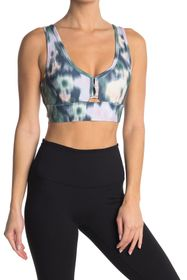Jessica Simpson Mikie V-Neck Sports Bra