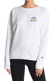 Champion Powerblend Logo Graphic Long Sleeve T-Shi