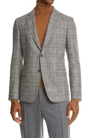 Z Zegna D8 Glen Plaid Sport Coat