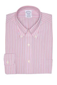 Brooks Brothers Pinstripe Print Long Sleeve Regent