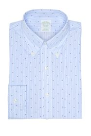 Brooks Brothers Dart Stripe Trim Fit Dress Shirt