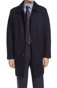 Cole Haan Wool Blend Top Coat