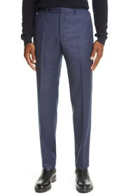 Ermenegildo Zegna Trofeo Wool Twill Dress Pants