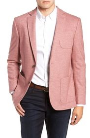 FLYNT Pink Two Button Notch Lapel Regular Fit Wool