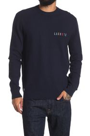 Lacoste Ribbed Crew Neck Pullover