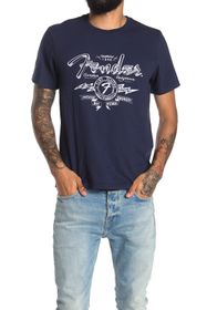 Lucky Brand Fender Illustration Graphic Tee