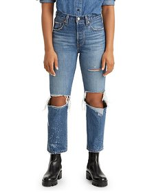 Levi's - 501 Original Cropped Jeans in Athens Rank