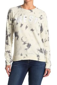 Lucky Brand 'West' Tie Dye Lucky Sweatshirt