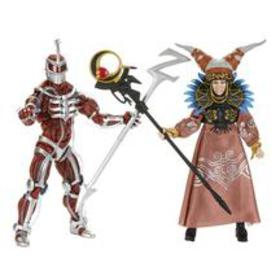 Mighty Morphin Power Rangers Lord Zedd and Rita Re