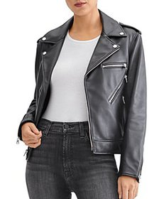 7 For All Mankind - Leather Moto Jacket