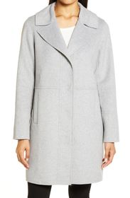 Kenneth Cole New York Double Face Wool Blend Coat