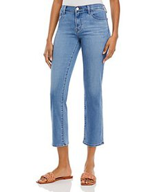 J Brand - Adele Mid Rise Straight Jeans in Earthen