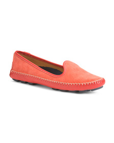 Made In Brazil Suede Venetian Loafers