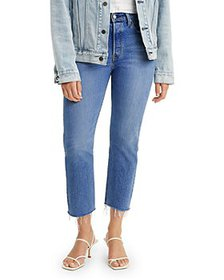 Levi's - 501 Original Cropped Jeans in Charleston