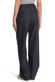 Theory Pleated Relaxed Leg Trousers